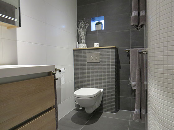 Baderie sanitair badkamer - Badkamer m ...
