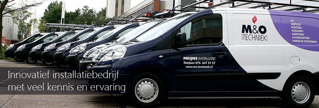 M&O Techniek de installateur voor particulieren, de zakelijke markt en utiliteit.