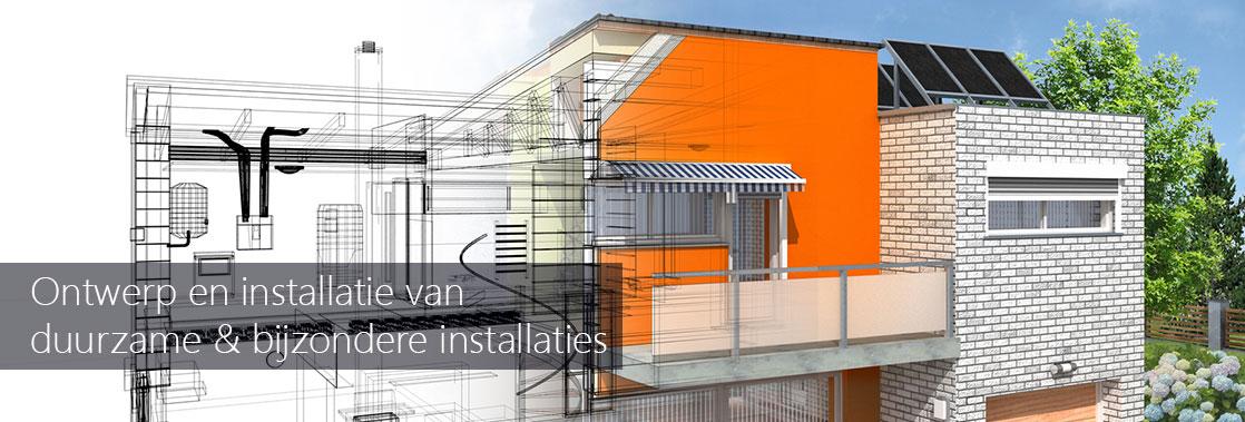 M&O Techniek ontwerpt en installeert duurzame en bijzondere  installaties.