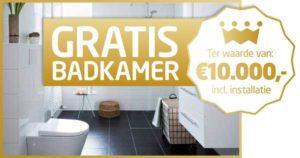 Win een badkamer bij Baderie M&O Techniek