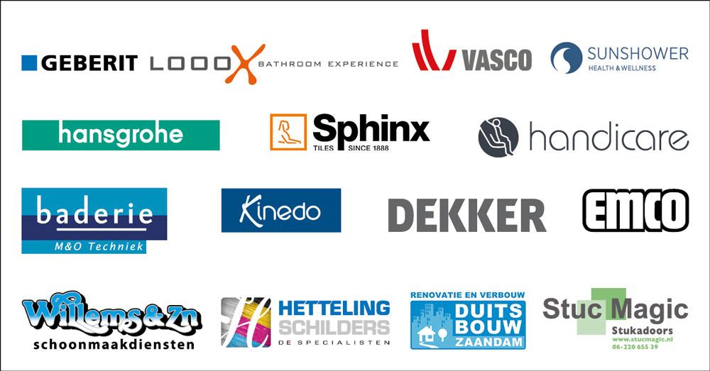 Sponsors badkameractie Baderie M&O Techniek