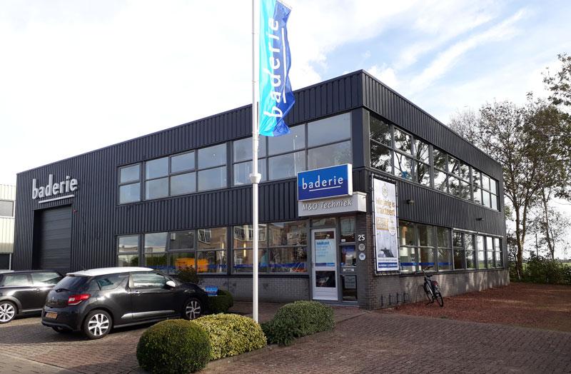 Badkamer showroom Baderie in de Zaanstreek