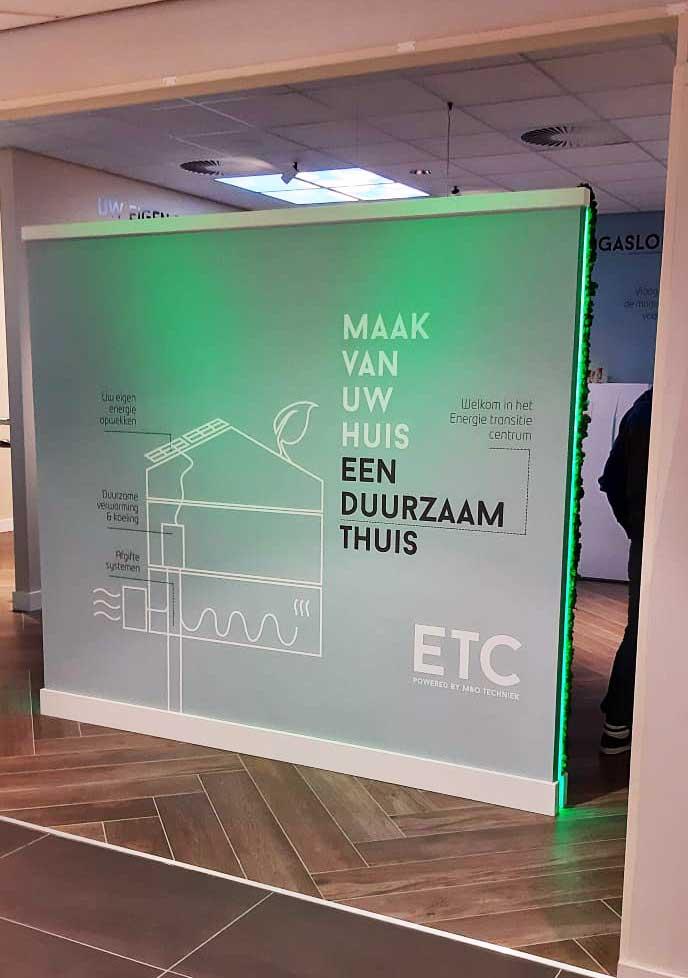 EnergieTransitieCentrum voor duurzaam verwarmen