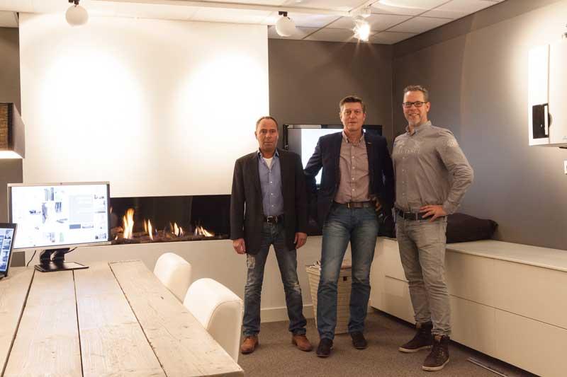 Directie M&O Techniek, Ruud Meijns, Marcel Luten, Erik Dell