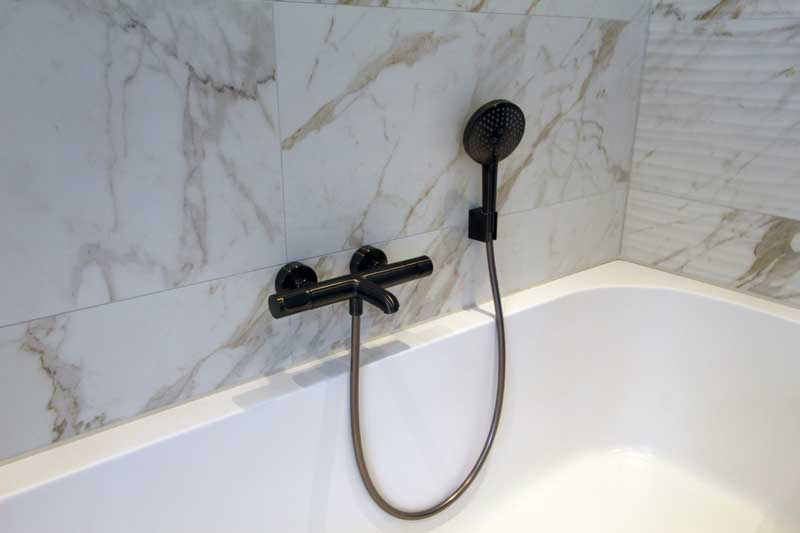 Moderne badkamers bij de Baderie