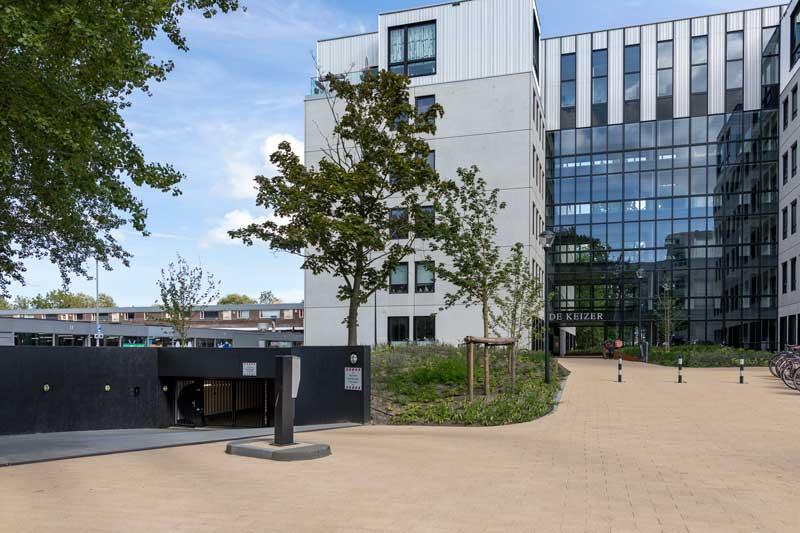 Transformatie gebouw, van bedrijfspand naar 113 gasloze appartementen.